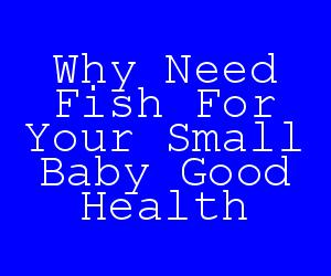 Why Need Fish For Your Small Baby Good Health.jpg